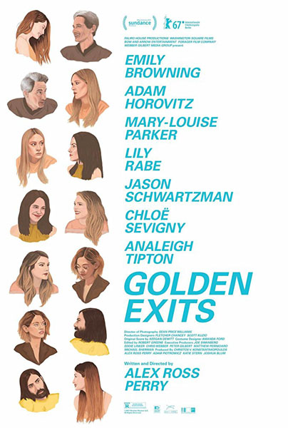 Golden Exits (2017) - Movie Poster