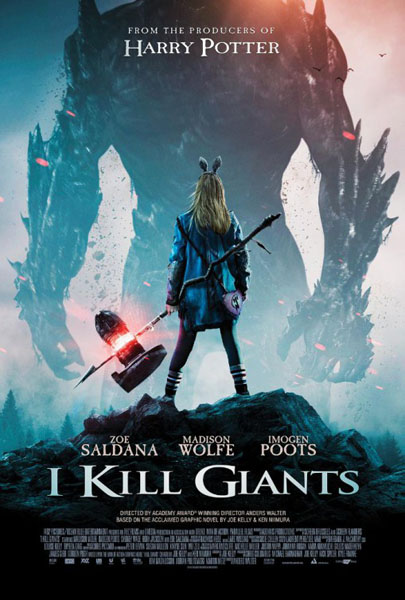 I Kill Giants (2017) - Movie Poster