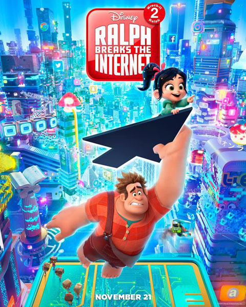 Ralph Breaks the Internet: Wreck-It Ralph 2 (2018) - Movie Poster