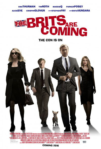 The Brits Are Coming (2018) - Movie Poster