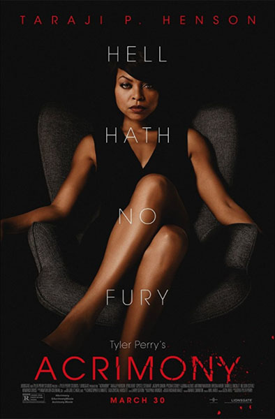 Tyler Perry's Acrimony (2018) - Movie Poster