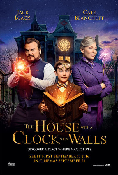 House With A Clock In Its Walls, The (2018) - Movie Poster
