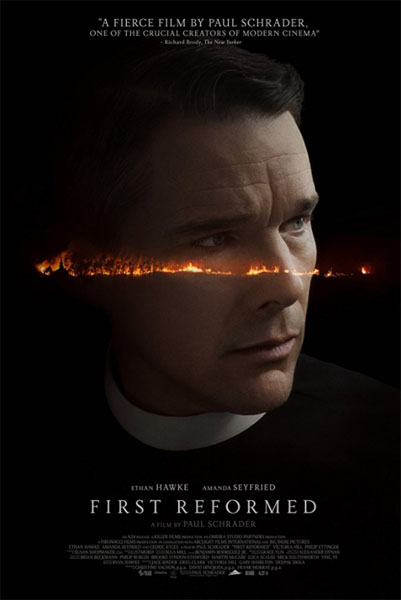 First Reformed (2017) - Movie Poster