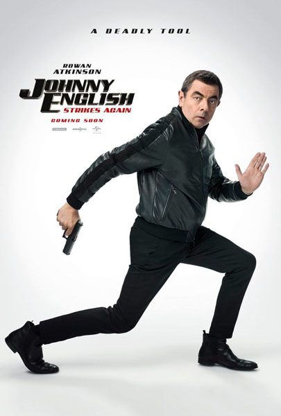 Johnny English Strikes Again (2018) - Movie Poster