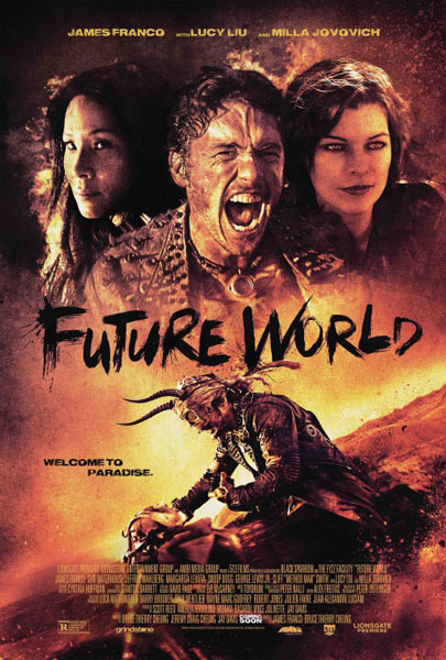 Future World (2018) - Movie Poster