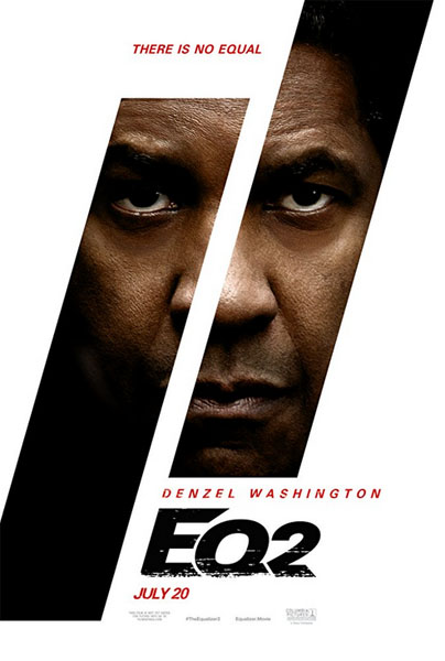 The Equalizer 2 (2018) - Movie Poster