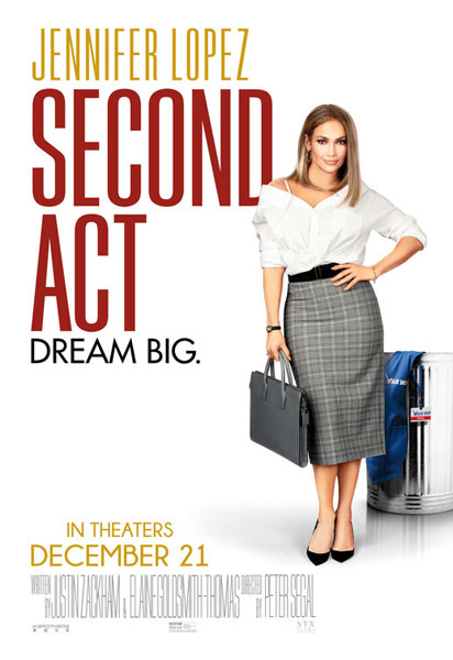 Second Act (2018) - Movie Poster