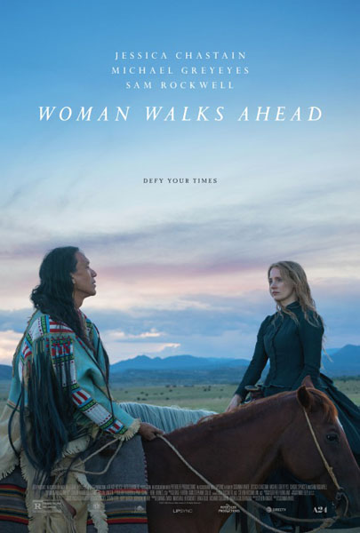 Woman Walks Ahead (2017) - Movie Poster