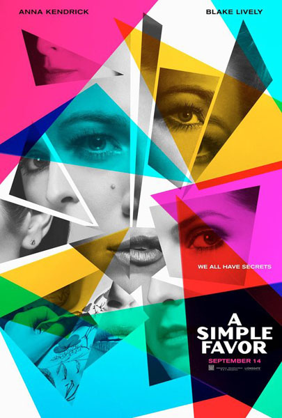 Simple Favor, A (2018) - Movie Poster
