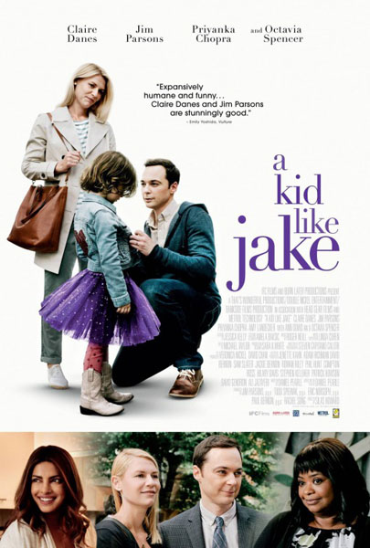 A Kid Like Jake (2018) - Movie Poster