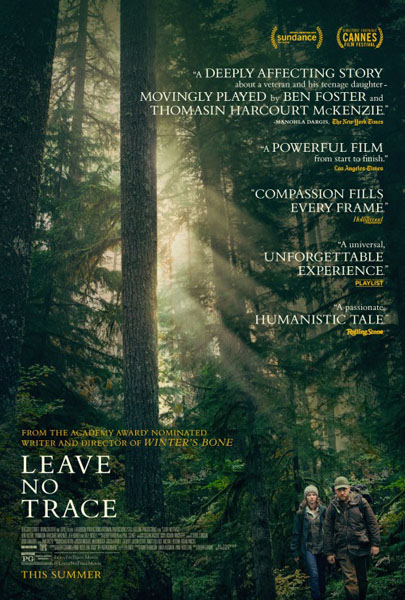 Leave No Trace (2018) - Movie Poster