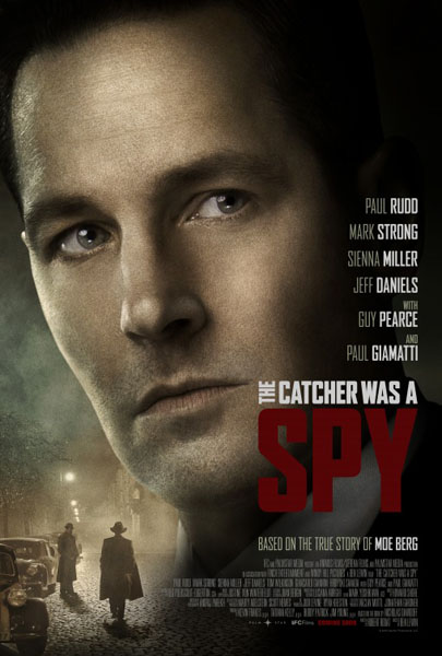 The Catcher Was a Spy (2018) - Movie Poster