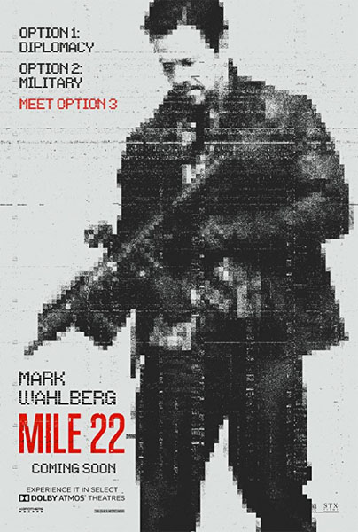 Mile 22 (2018) - Movie Poster