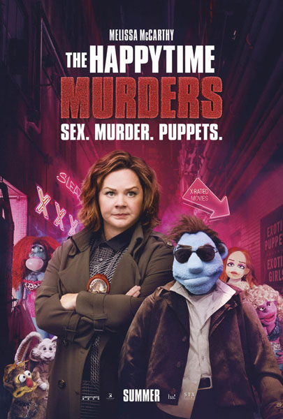 Happytime Murders, The (2018) - Movie Poster