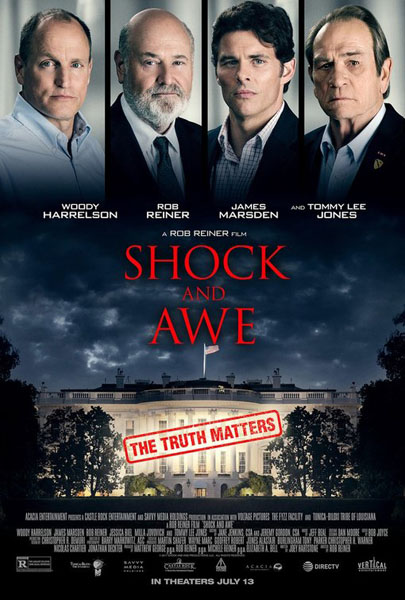 Shock and Awe (2017) - Movie Poster