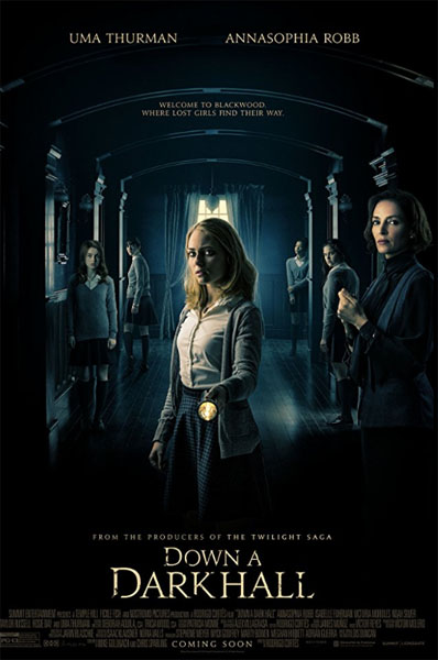 Down a Dark Hall (2018) - Movie Poster