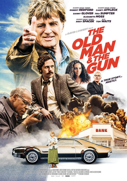 Old Man and the Gun, The (2018) - Movie Poster