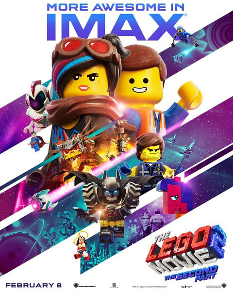 Lego Movie 2: The Second Part, The (2019) - Movie Poster