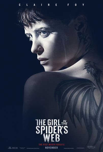 The Girl in the Spider's Web (2018) - Movie Poster