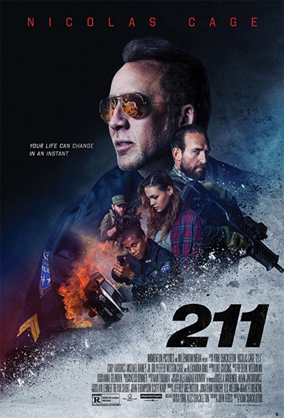 211 (2018) - Movie Poster