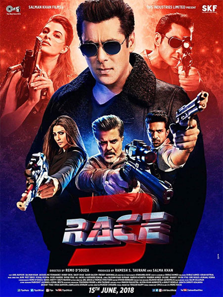 Race 3 (2018) - Movie Poster