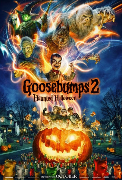 Goosebumps 2: Haunted Halloween (2018) - Movie Poster