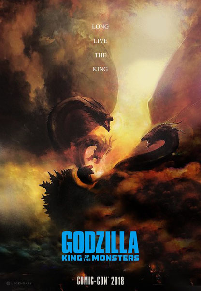 Godzilla: King of the Monsters (2019) - Poster