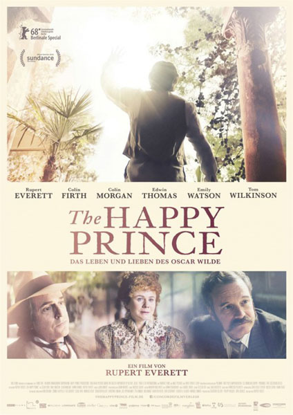The Happy Prince (2018) - Movie Poster