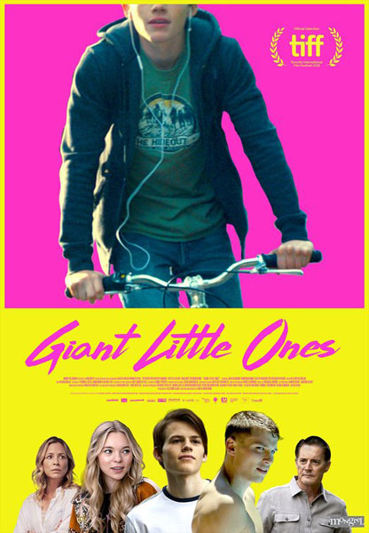 Giant Little Ones (2018) - Movie Poster