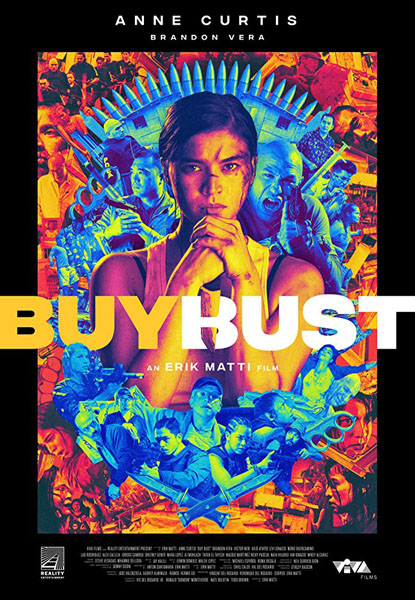 BuyBust (2018) - Movie Poster