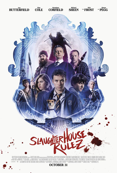 Slaughterhouse Rulez (2018) - Movie Poster