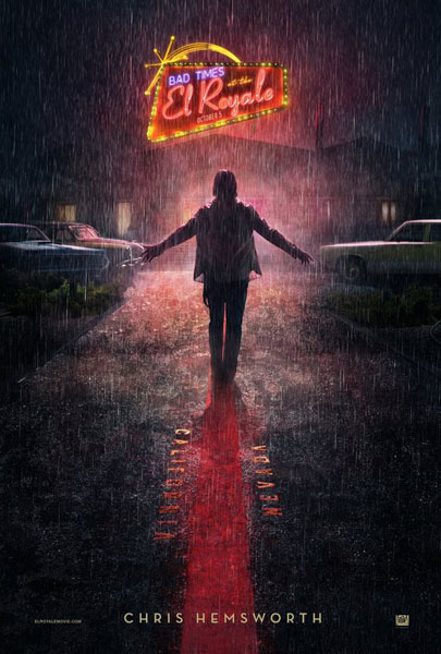 Bad Times at the El Royale (2018) - Movie Poster