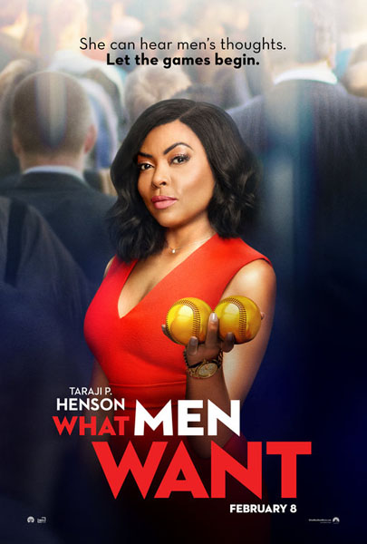 What Men Want (2019) - Movie Poster