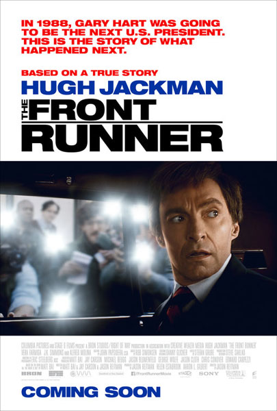 Front Runner, The (2018) - Movie Poster