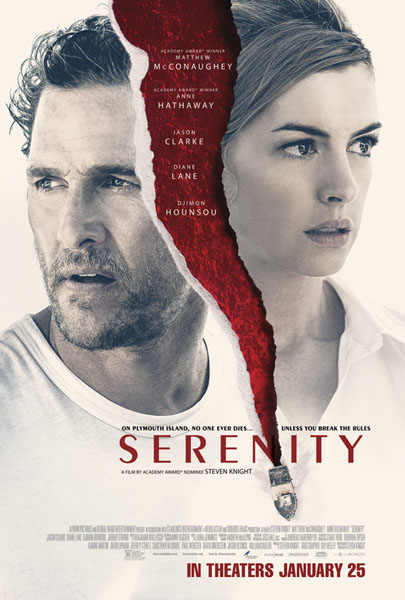 Serenity (2018) - Movie Poster