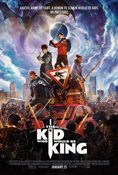 Kid Who Would Be King, The (2019) - Movie Poster