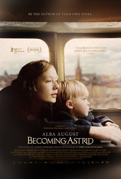 Becoming Astrid (2018) - Movie Poster