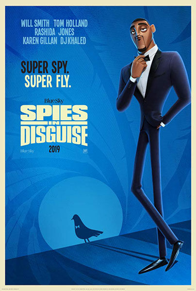 Spies in Disguise (2019) - Movie Poster