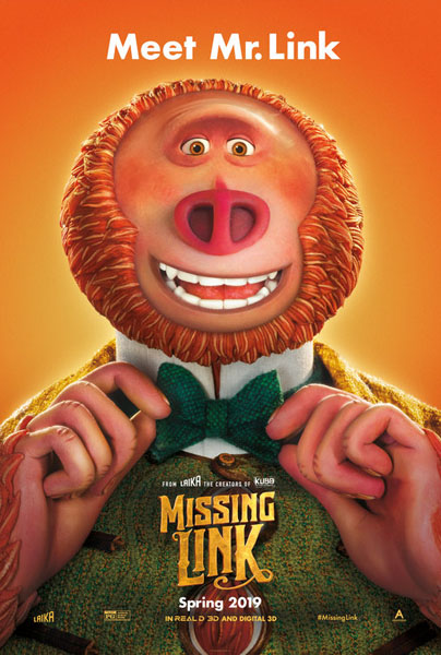 Missing Link (2019) - Movie Poster