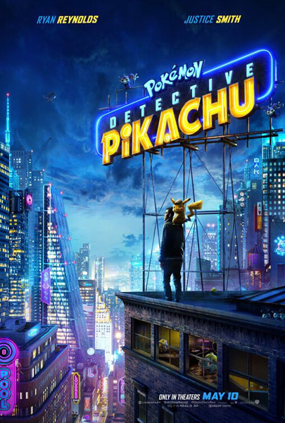 Pokémon Detective Pikachu (2019) - Movie Poster