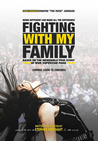 Fighting with My Family (2019) - Movie Poster