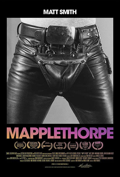 Mapplethorpe (2018) - Movie Poster