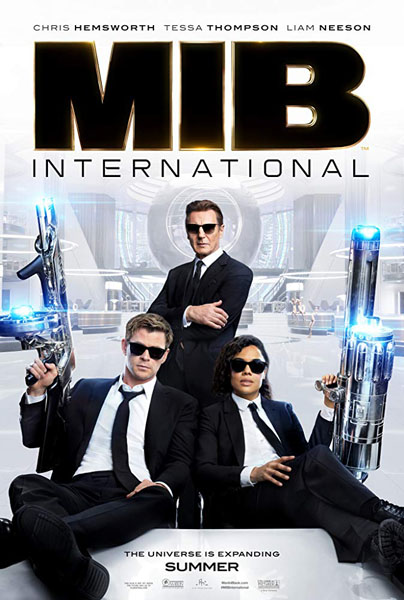 Men in Black: International (2019) - Movie Poster