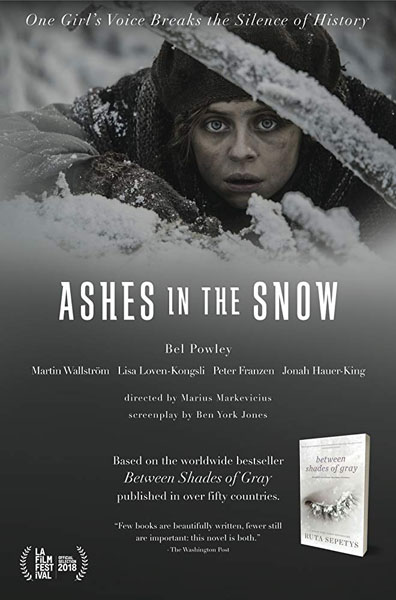 Ashes in the Snow (2018) - Movie Poster