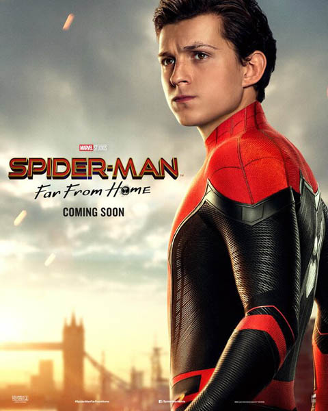 Spider-Man: Far From Home (2019) - Movie Poster