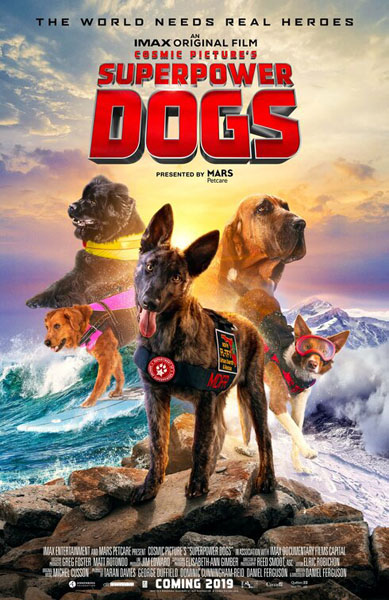 Superpower Dogs (2019) - Movie Poster