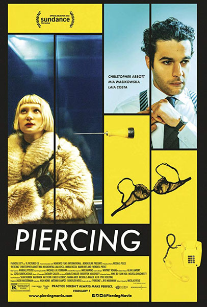 Piercing (2018) - Movie Poster
