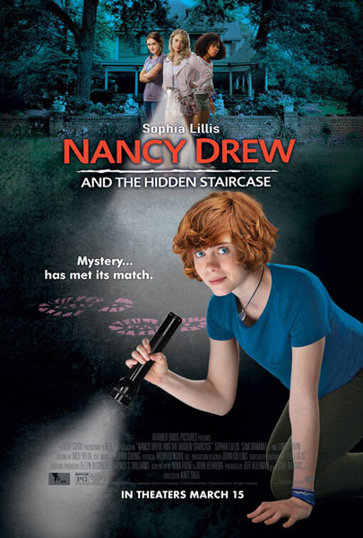 Nancy Drew and the Hidden Staircase (2019) - Movie Poster