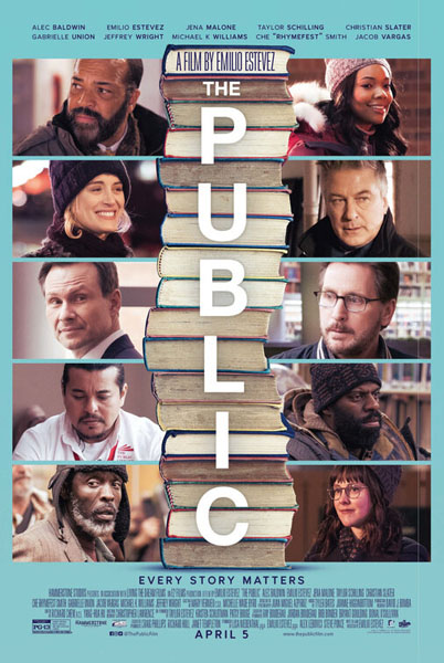 The Public (2018) - Movie Poster