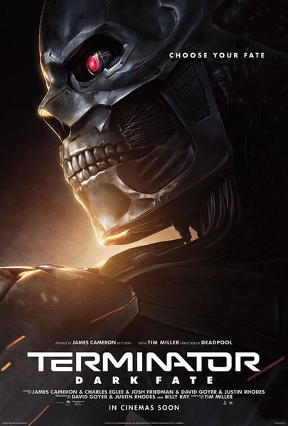 Terminator: Dark Fate (2019) - Movie Poster